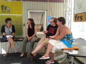 Medienkarawane-Pamela Neuwirth, Jolanda De Wit, Richard Schachinger u Johanna Ramacher
